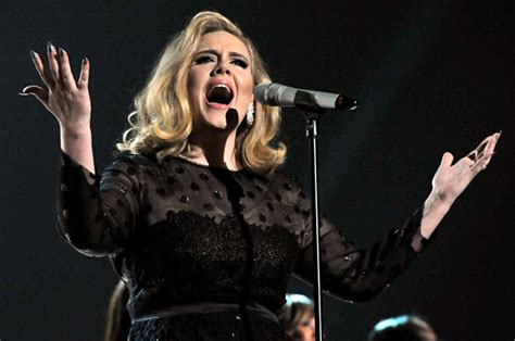 adele grammys dress 2013 see the singer s red carpet look adele hits new dance club songs peak with skyfall