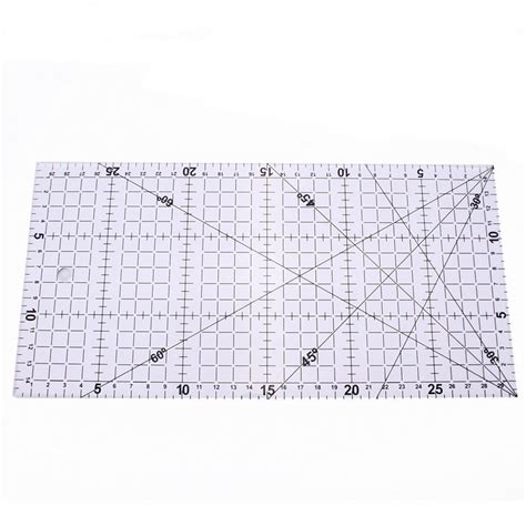 Patchwork Quilting Rulers - 30x15cm quilting ruler acrylic sewing clear quilt