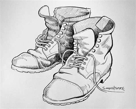 Boots Drawing