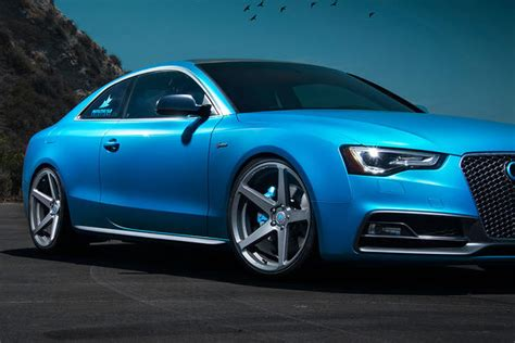 audi s5 a5 wheels and styling upgrades by vorsteiner