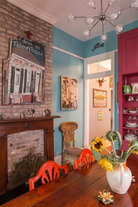 new orleans home decor a vibrant colorful art filled new orleans home house