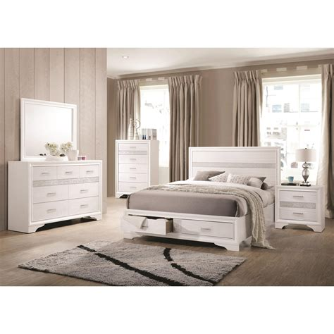 eastern king bedroom sets miranda 4pc eastern king bedroom set