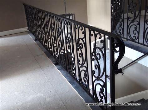 charlotte nc wrought iron railing balcony