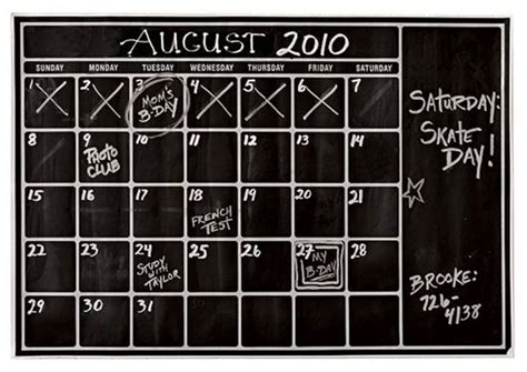 i want to make a calendar i want to make a chalkboard calendar for the boys room