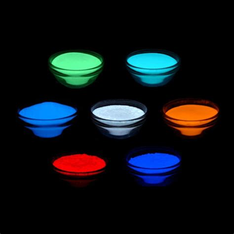 glow in the pigment powder uk phosphorescent luminescent glow in the additive