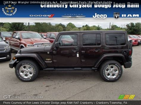 most rugged 4x4 2013 wrangler unlimited 4x4 rugged brown pearl blackdark breeds picture