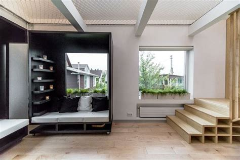 Apartment Designs For Small Spaces by Small Apartment With A Hammock That Covers An Entire Floor
