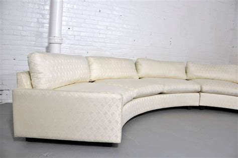 Milo Baughman Curved Sofa by Milo Baughman Curved Sofa At 1stdibs