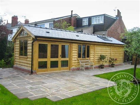 building a double garage with office annex above 1000 images about home offices annexes summerhouses on