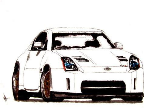 nissan 350z drawing 350z drawings anyone page 5 my350z com nissan