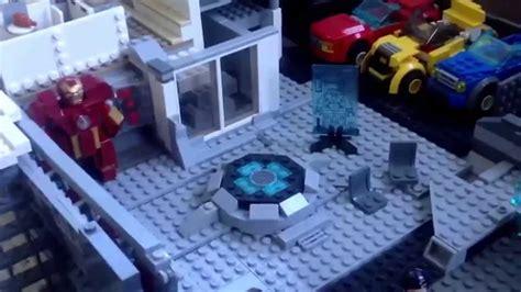 Tony Stark S House Lego Marvel Tony Stark Malibu Mansion Moc Youtube