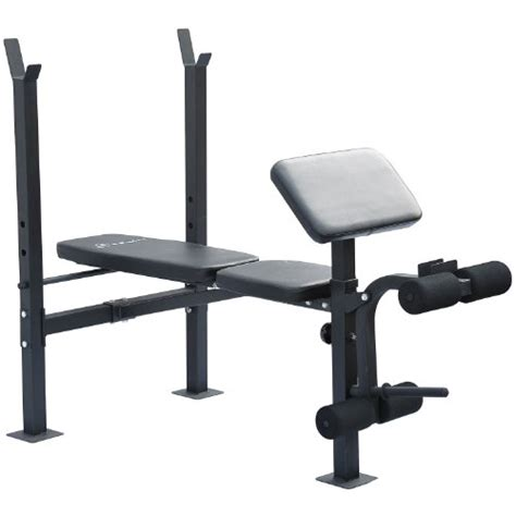 leg exercises on weight bench soozier incline flat exercise free weight bench w curl bar leg extension
