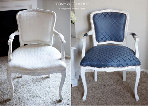 armchair reupholstering diy reupholstered craigslist chair using curtains