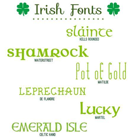 fabulous font finds irish fonts m 183 gramm 183 gram