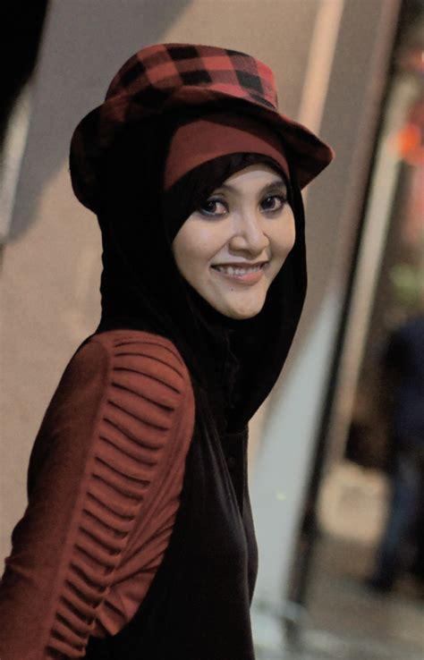 hijabers fashion style beautiful hijabers  gorgeous hat