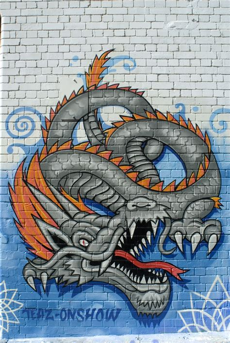 world star graffiti graffiti dragon art