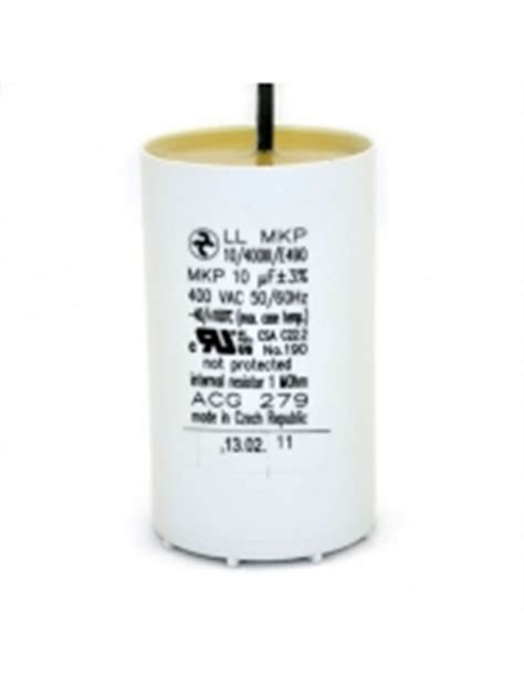 capacitor ballast resistor acg279 resistor capacitor with leads 10uf 400vac for metal halide 175w