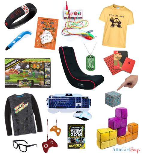 ultimate list of cool gifts for gamers atta girl says