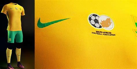 Safa New nike safa unveils new kit for bafana bafana