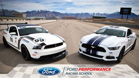 ford driving school ford performance racing school takes drivers to a higher level