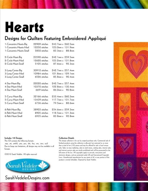 format cd rom hearts embroidery designs on multi format cd rom by sarah