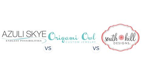 Origami Owl Direct Sales - azuli vs origami owl vs south hill designs
