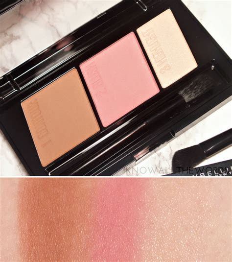 Maybelline Contour Kit maybelline master contour contouring kit i all the words