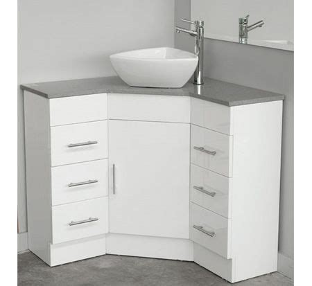 small bathroom corner vanity could work in the bathroom it would give more space
