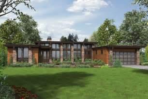 plano de moderna casa de un piso vidriada 3 dormitorios