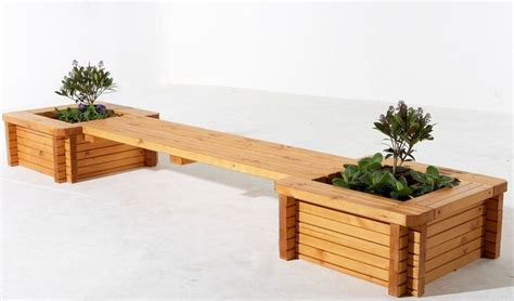 garden bench with planters workbench plans plans for outdoor bench woodworking