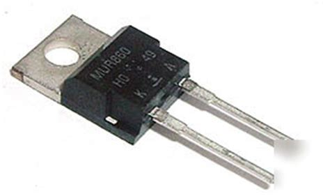 rectifier diode lab power rectifier diodes mur860 8 8a 600v diode 10