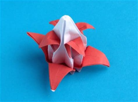 Advanced Origami Flower - joost langeveld origami page