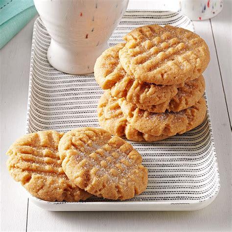 peanut butter cookies recipe taste of home