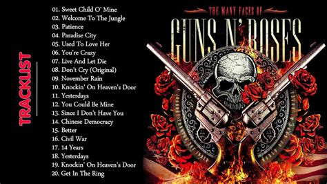 best guns n roses songs guns n roses greatest hits collection the best of
