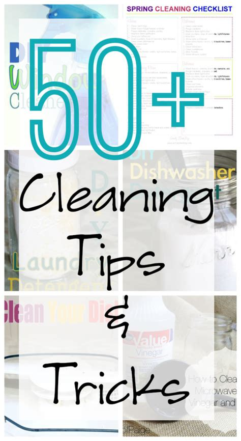 50 Cleaning Tips 50 cleaning tips and tricks home tips tricks