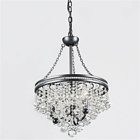 overstock chandelier eleanor 3 light antique bronze chandelier