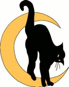 free black cat clipart public domain halloween clip art