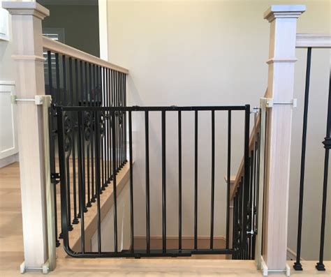 safety gates for stairs with banisters custom baby safety stair gate baby safe homes