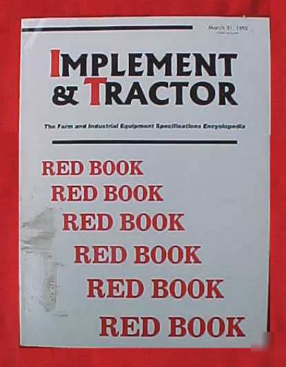 implementing the machine on activecaign masterclass books 1992 i t book implement tractor encyclopedia