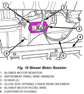where is the blower motor resistor located on 2005 trailblazer 2001 dodge durango blower motor resistor location 2001 free engine image for user manual
