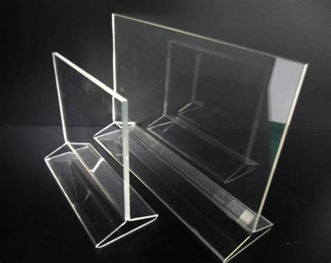 acrylic counter sign poster holder frame shenzhen