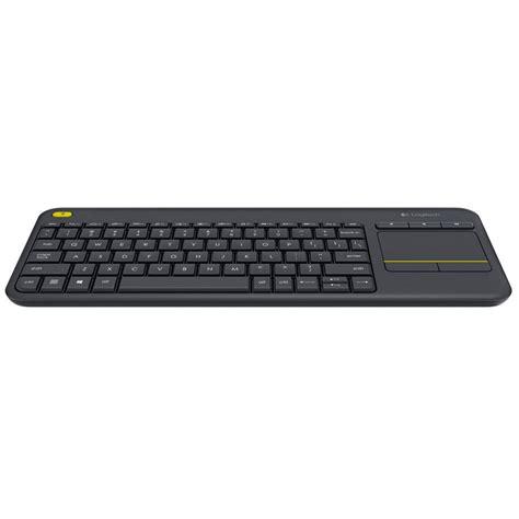 Keyboard Logitech K400 logitech k400 wireless touch keyboard negro teclado