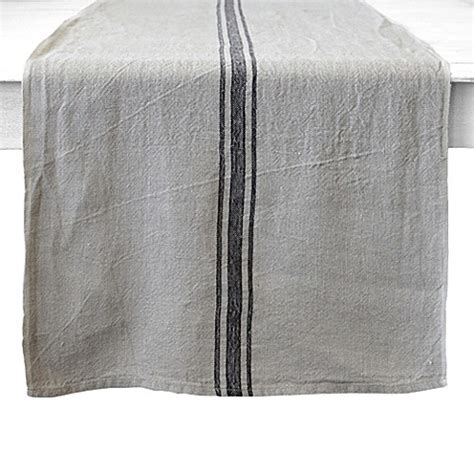 couleur nature runner buy couleur nature vintage striped linen runner in