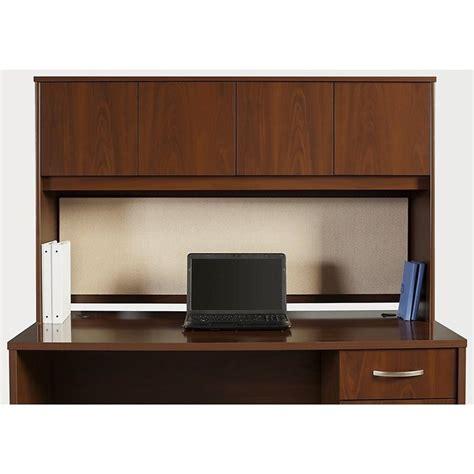 bush hansen cherry desk bush business series c elite bow front u desk desk in
