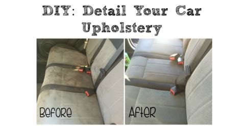 Car Upholstery Cleaner Diy by Diy Detail Your Cars Upholstery