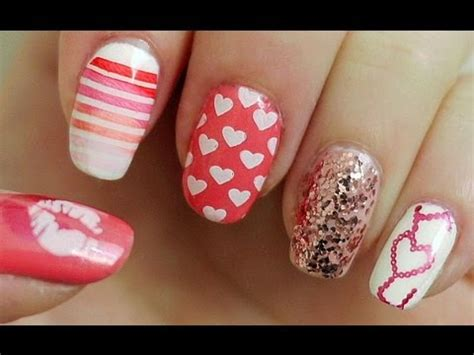 nail art konad tutorial valentine s day nail tutorial konad sting youtube