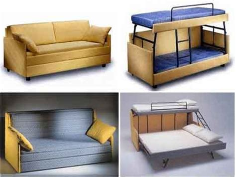Sofa To Bunk Bed Sofa That Converts Into A Bunk Bed In Two Seconds Freshome