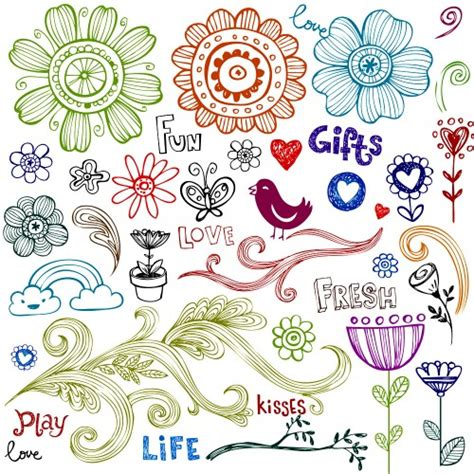 flower doodle flower doodles images search