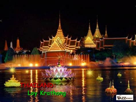 Link Stabil Jazz Tailand thailand loy krathong festival of lights with beautiful thai jaz