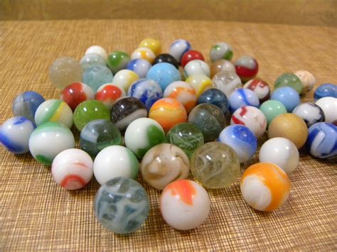 with marbles vintage glass marbles collection of 58 antique by redrubyretro
